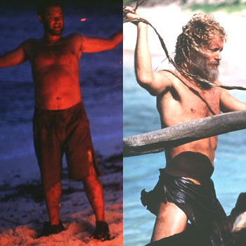 Tom Hanks Cast Away Weight