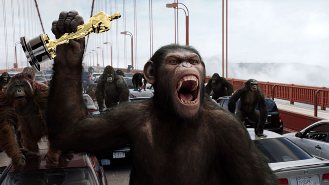 RIse of the Planet of the Apes Oscar
