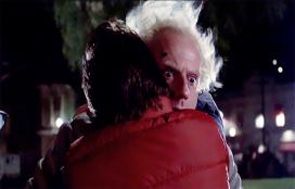 Doc Marty hug