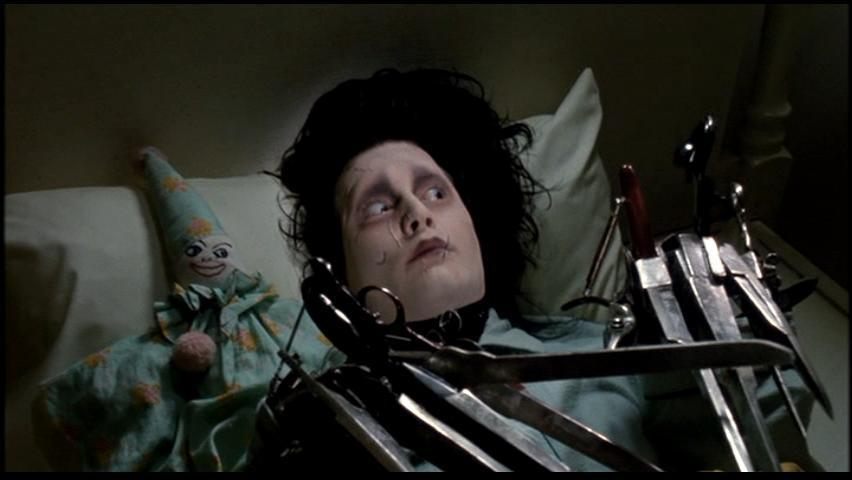 Haiku Review Edward Scissorhands Hard Ticket To Home Video