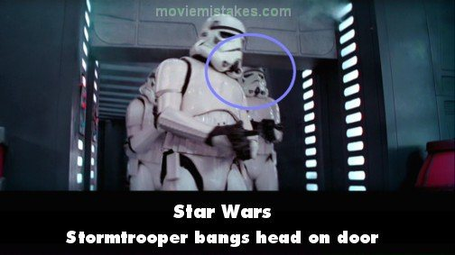 star-wars stormtrroper hits head