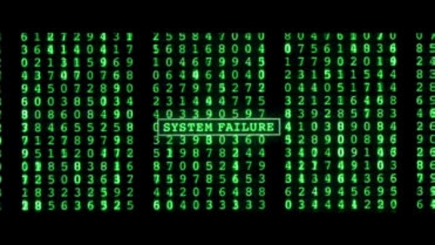 Image result for matrix system failure gif