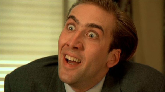 Top 8 Nicolas Cage Crazy Faces Hard Ticket To Home Video