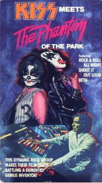 KISS Meets the Phantom of the Park cover
