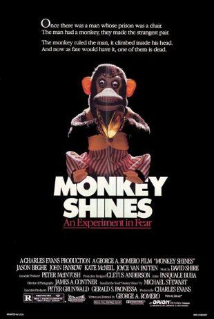 Monkey Shines-Poster