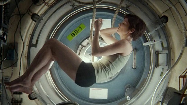 Sandra Bullock Gravity shorts
