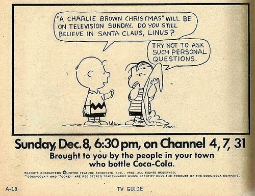 A Charlie Brown Christmas TV Guide