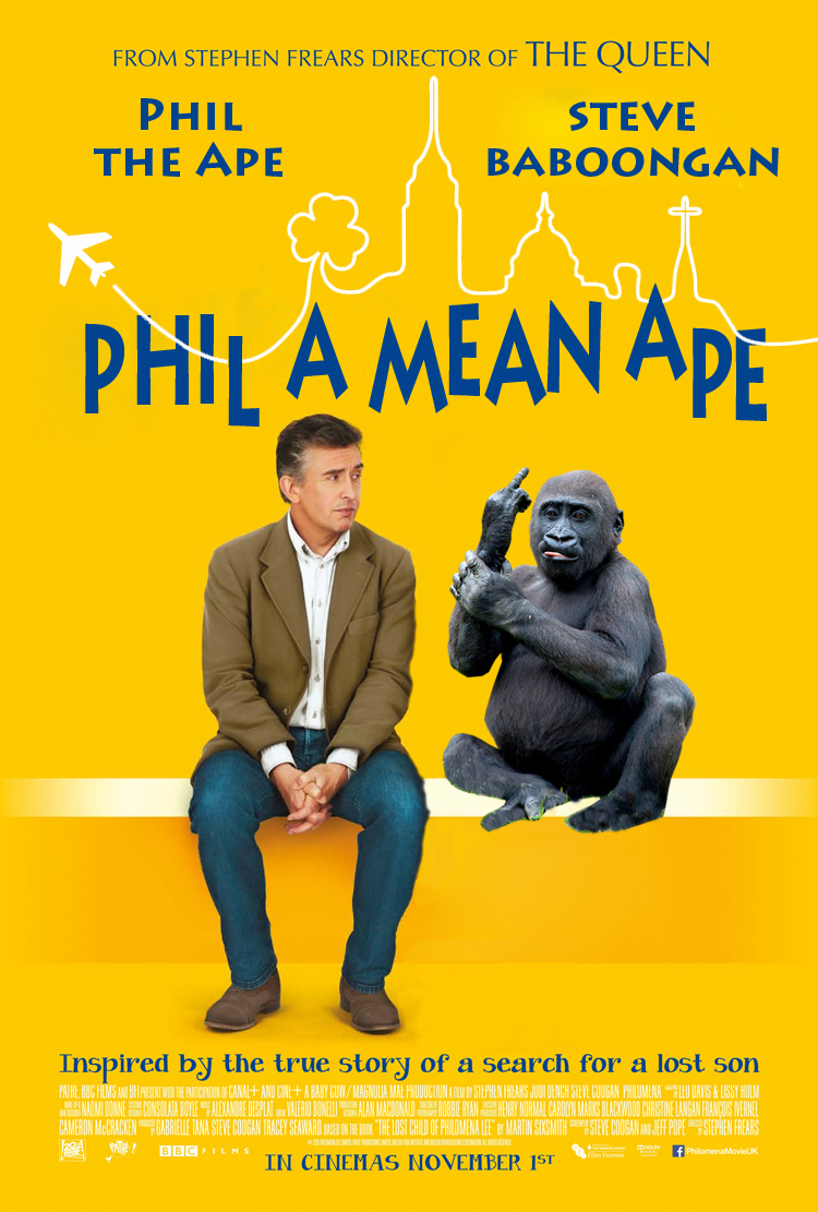 Phil, A Mean Ape-Poster-3