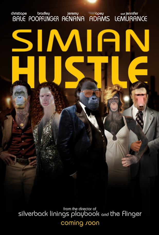 Simian Hustle-Poster