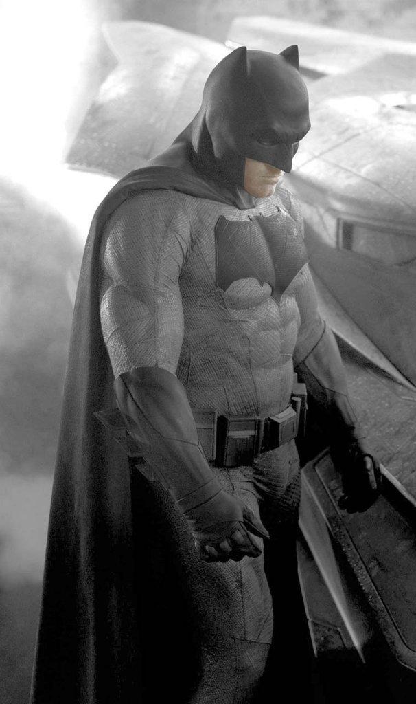 Affleck Batman costume detail