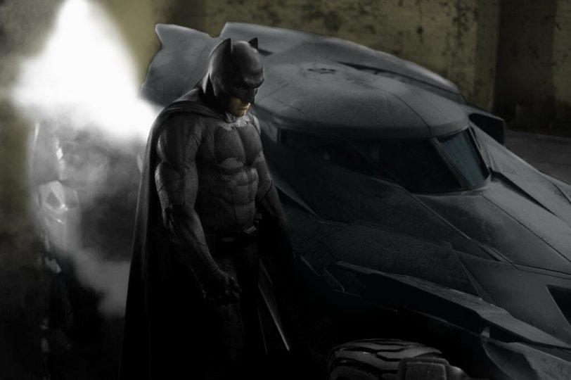 Affleck Batman costume in color