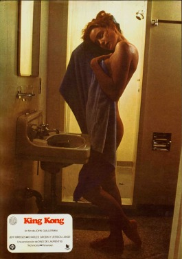 Jessica Lange King Kong shower