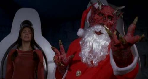 I've seen actual mall Santas who look more authentically demonic.