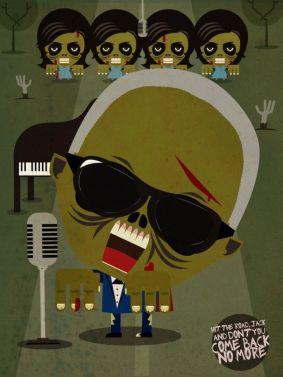 Ray Charles zombie