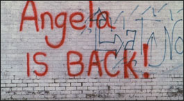 Angela is back and there's gonna be some trouble...Hey Na, Hey Na, Angela's back!