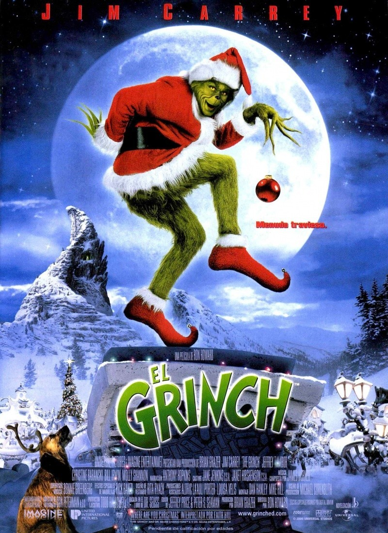 how the grinch stole christmas 2000 el grinch - How The Grinch Stole Christmas Video