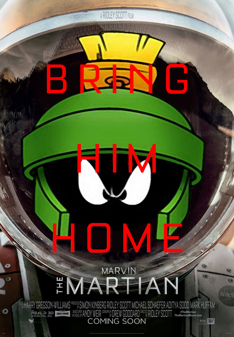 Marvin the Martian_poster