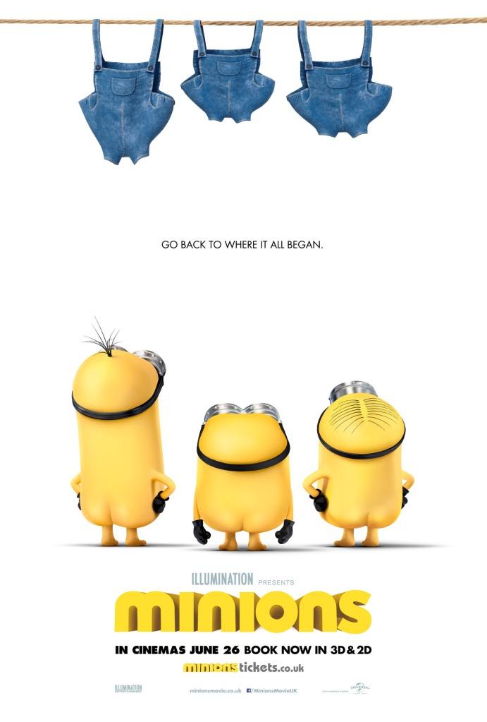 Minions butt poster