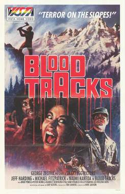 Blood Tracks poster