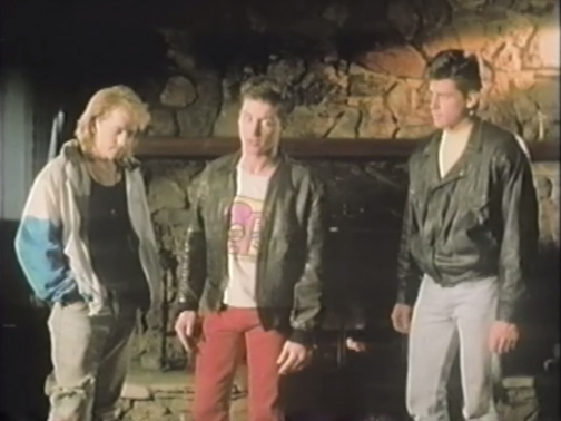 """""""Now I know we're all upset that Jimmy..."""" """"Timmy..."""" """"...Timmy has forgotten to wear his leather..."""""""