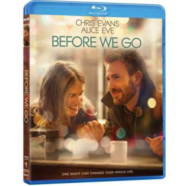 Before We Go blu ray