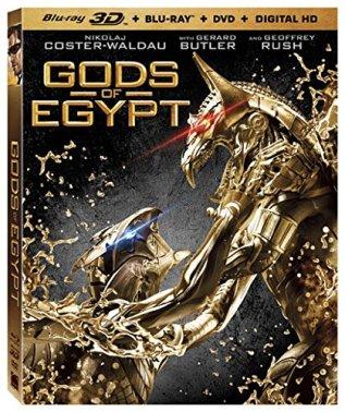 Gods of Egypt Blu-ray