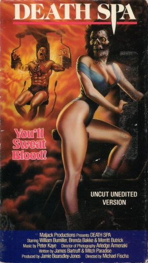 death spa vhs cover