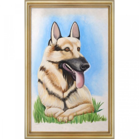 IASIP Hitler dog painting